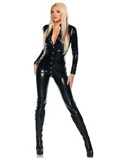 WetLook Enchanting Clubwear Button Leather Bustier