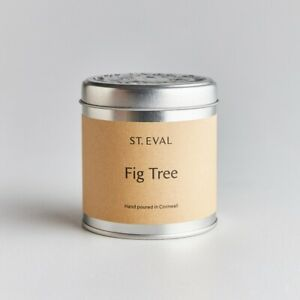 St Eval Candle Company Scented Tin Candle Fig