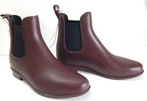 Women's Chelsea Wide Width Rain Boots Burgundy - A New Day - SIZE 7W