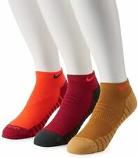 Nike Everyday Max Cushioned Training No-Show Socks 3 Pairs Size 8-12