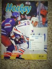 1994 Rochester Americans Todd Simon cover AHL Calder Cup Playoffs game program