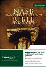 NASB Reference Bible: Personal Size by Zondervan (Leather / fine binding, 2001)