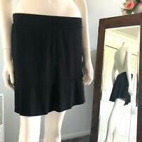 Now Black flared skirt Size 12 Womens
