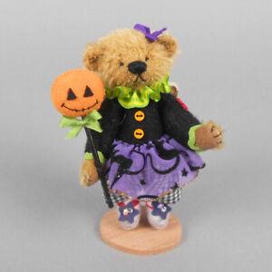 Deb Canham Pumpkin Fairy Bear 2010 Halloween Convention Piece
