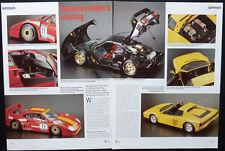 MODELLBAU POCHER FERRARI TESTAROSSA und F 40 GT.... ein Modellbericht