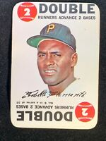 Roberto Clemente Pirates 1968 Topps Game Card #6 - DOUBLE - NM+!!!