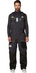 Helly Hansen Men's Skagen Offshore Coastal Bib Overall Black Size 2XL 33908 NWT