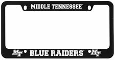 Middle Tennessee State University -Metal License Plate Frame-Black