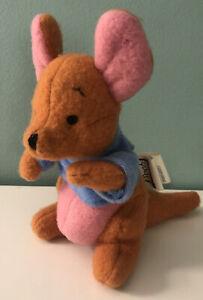Gund Pooh 100 Acre Collection Kanga or Roo Plush Set Stuffed Animal Soft Toy