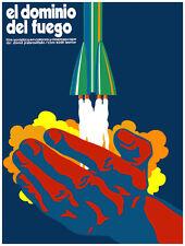 """20x30""""Decoration CANVAS.Interior design art.El dominio del fuego.Rocket.6368"""