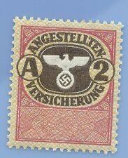 Germany Nazi Third Reich  Swastika Eagle Revenue A 2 Stamp MNH WW2 ERA
