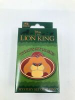 Disney Pin What's my Name The Lion King Cast Exclusive Sealed Box