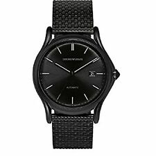 Armani ARS3014 Men's Swiss Made Black Automatic Watch