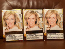 LOreal AGE PERFECT LIGHT BEIGE BLONDE Permanent Colour Dye Mature Grey Hair 9.31