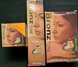 BronzTone Lightening Serum, Soap and Black Spot Corrector