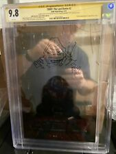 CGC 9.8 THE LAST RONIN #2 METAL COVER Ben Bishop TMNT SIGNED! SKETCHED! ONLY 50!
