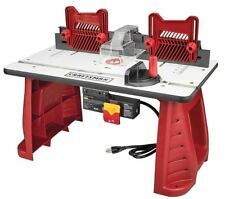 NEW Craftsman Router Table Portable Bench Garage Woodworking Precision Cutting