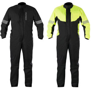 Alpinestars Hurricane Motorcycle Rain Suit One Piece Suit Waterproof Touring