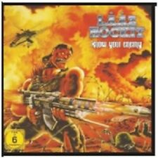 LAAZ ROCKIT - KNOW YOUR ENEMY  CD + DVD NEW