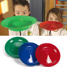 Childrens Colourful Fun Indoor/Outdoor Activity Toys Juggling Plates (Set Of 3)