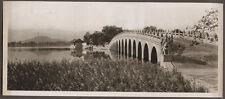 1920's CHINA GRAVURE PAGEANT OF PEKING DONALD MENNIE - MARBLE BRIDGE