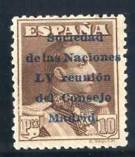 Sellos de España 1929 nº 467 LV Reunión consejo Madrid Nuevo con charnela