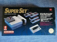 Console Nintendo Nes Super Set Full Boxed Mattel Italiano Mint