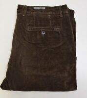 J2557 MARKS AND SPENCER MEN'S BROWN CORDUROY TROUSERS W36 L31