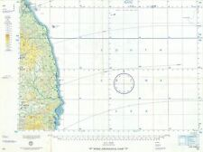 1958 U.S. Air Force Aeronautical Map of the Eastern Coast of Central Vietnam