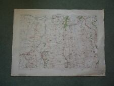 "1"" Ordnance Survey Map 38 Gainsborough 1908 Barnetby Belton Market Rasen Kirton"