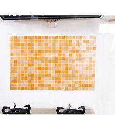 HOT Kitchen Wall Stickers Self-adhensive Mosaic Tile Paper Backsplash Bathroom