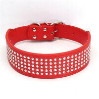 Tragbares verstellbares wasserdichtes PU-Leder-Halsband für Hundekontrolle MGA