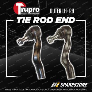 2 Pcs Trupro Outer Tie Rod Ends for Mercedes Benz Vito 639 109CDI 122CDI 119EFI