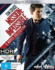 MISSION IMPOSSIBLE 1-6 (1996-2018): COMPLETE - Au RegB 4K UltraHD HDR + BLU-RAY