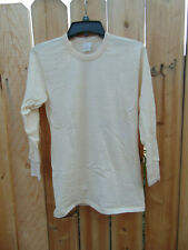 "Italian military wool long john top Size S, 33-37"" chest, excellent condition"