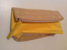 Natio Cosmetics/Toiletry Bag Yellow. New