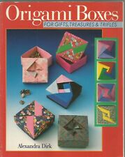 Origami Boxes For Gifts Treasures & Trifles Alexandra Dirk Paperback 1997
