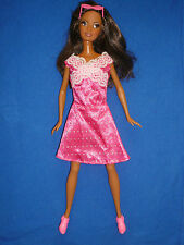 Fashion Fever Makeup Chic Tia Barbie Doll ~ Eyelashes & Outfit ~ Fringe Cut In