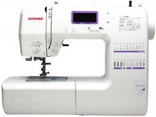 JANOME JAPAN COMPUTERIZED SEWING MACHINE JN-51 With Description DVD White