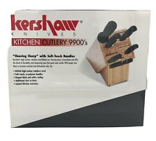 New In Box Unopened Kitchen Knife with wood Block Set Shun Kershaw 9900-7