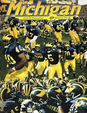 Michigan Football Program - vs. Illinois, October 23, 1993