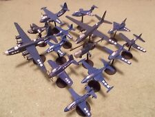 US Navy Aircraft Collection II (14) Built and Painted Models, 1/144 Scale