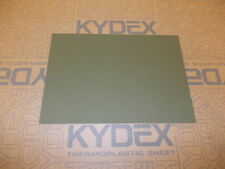 KYDEX T SHEET 297 X 210 X 2MM A4 SIZE (P-1 OLIVE DRAB GREEN 32140)