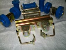 Boat Trailer  BLUE non marking Single and Keel Dumbell  roller Kit 2S3D16