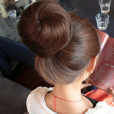 New Bridal Party Synthetic Hairpiece Hair Bun in/on wig Extention NEW jjvv