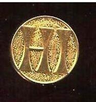 2 HI old HOTEL INTERNATIONAL mini   badge pin   pinback tacpin