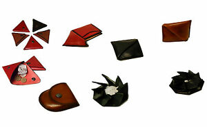 Porte-monnaie Cuir metier artisanat art Pierrick WIEL artisan