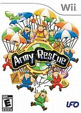 ARMY RESCUE Wii Complete Tested Manual