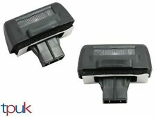 A PAIR OF BRAND NEW NUMBER PLATE LIGHT LAMP WITH BULB FORD TRANSIT CONNECT