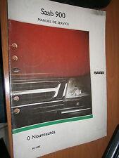 Saab 900 : manuel atelier partie 0 nouveautés 1992